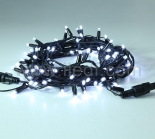 Outdoor LED String Lights,Connectable,Black PVC Cable