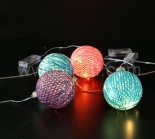 LED Hanging Light   With 5 Warm White Copper Wire LEDs