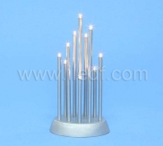 Indoor LED Plastic Candlesticks Light With 10 Warm White LEDs