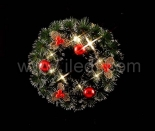 Battery Led Christmas wreath
