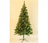 IP44 Outdoor Pre Lit Christmas Tree  210cm