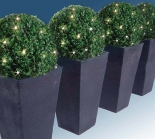 IP44 Outdoor Led Green Christmas Ball