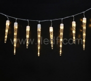 IP44,Outdoor LED Icicle,Clear PVC Cable