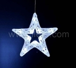 38cm Acrylic Star hanging light With 20 White LEDs