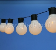 LED Festoon lights, Black Cable
