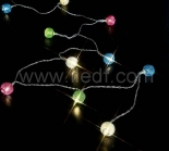 IP20 Indoor Battery Multi Color Globule Fairy Light