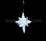 Indoor Battery Polar Star Hanging Light   30 White LEDs
