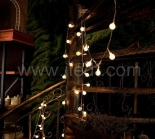 IP44,Outdoor Berry Fairy Lights, Clear PVC Cable
