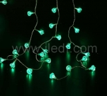 Outdoor Acrylic Diamond Fairy Lights With Green/Blue LEDs