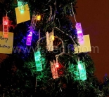 IP44 Outdoor Acrylic Clip Fairy Light With Multi Color LEDs