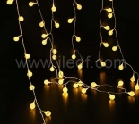 Outdoor Transformer Plastic Berry Fairy Lights With Warm White LEDs
