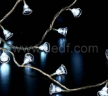 Outdoor Acrylic Bell Fairy Lights    White LEDs