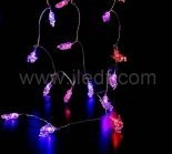 Outdoor Acrylic Fairy Lights   Pink And Red LEDs