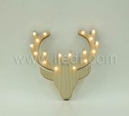 BATTERY OPERATED LED REINDEER DEER
