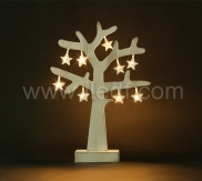 BATTERY OPERATED LED STANDING TREE