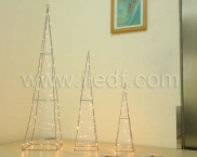 LED Battery Copper Wire Motif Light , IP20 Indoor tower Light