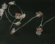 Copper Mico Naked Wire Battery Deer Head Fairy Lights