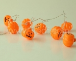 Battery Fairy Lights For Halloween , pumpkin Light String