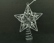LED Motif Light for Christmas Tree , Warm White Star Light