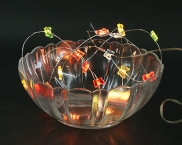 Copper Mico Naked Wire Multi Color Battery Batterfly Fairy Lights