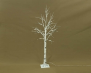 IP44 Outdoor LED silver birch , Warm White Light